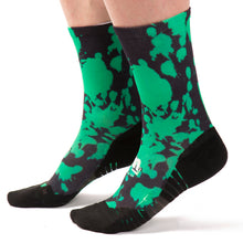 Calcetines de ciclismo Ridefyl paint green