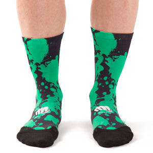 Calcetines MTB Ridefyl paint green