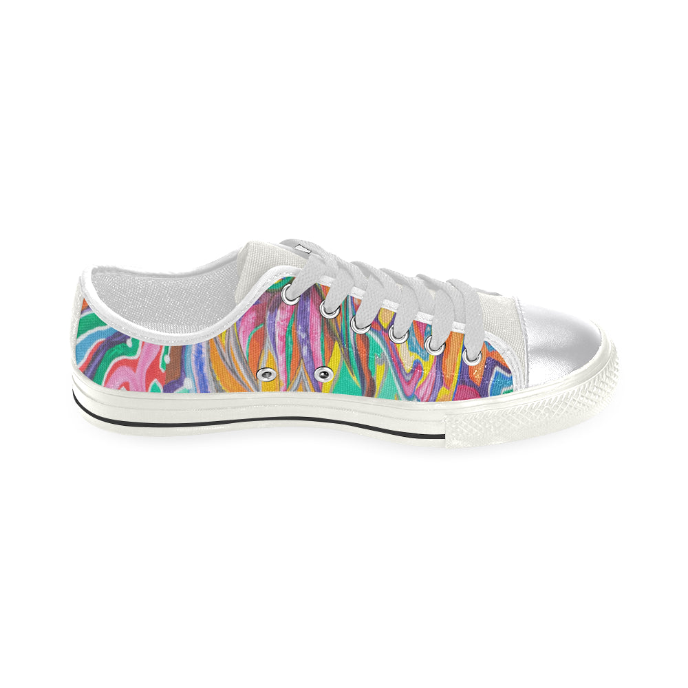 Enlightened Couple- Women's Low Tops