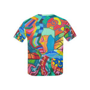 Pathway of Color-T-shirt for Kids