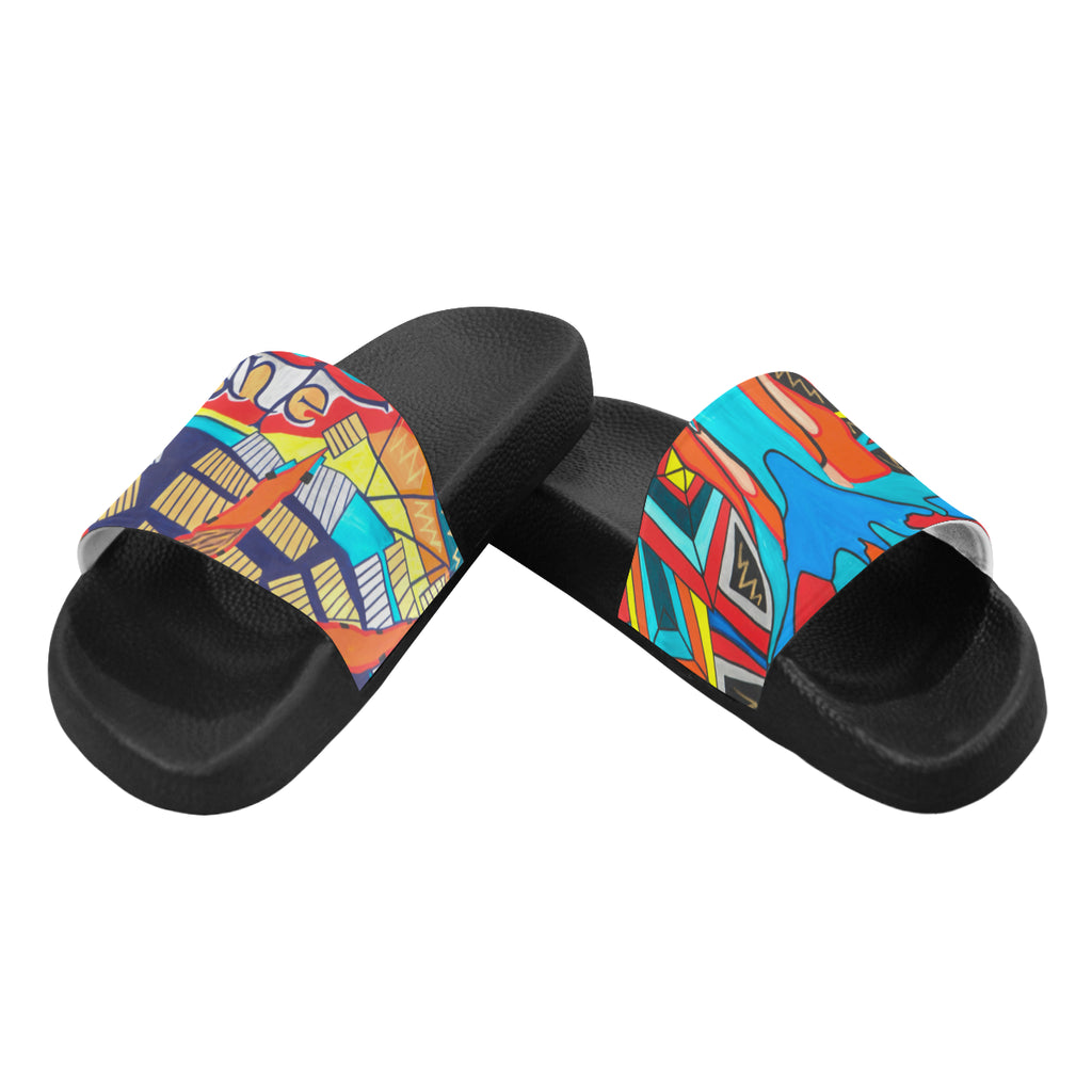 Money Tree- Men's Slides (Large)