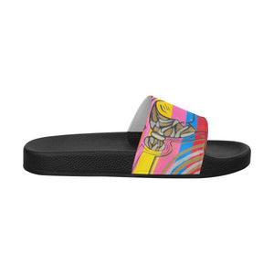 Dance for me- Men's Slides ( Large)