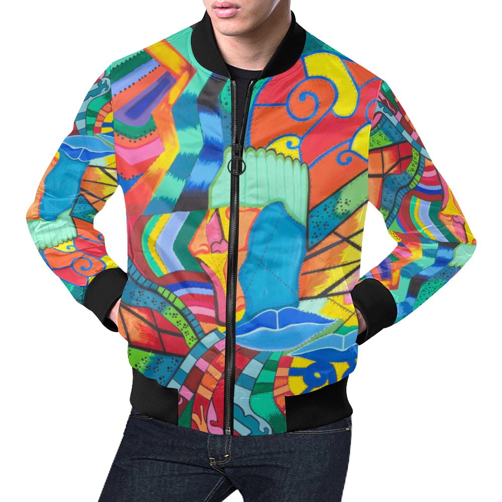 Path of Color- Bomber Jacket