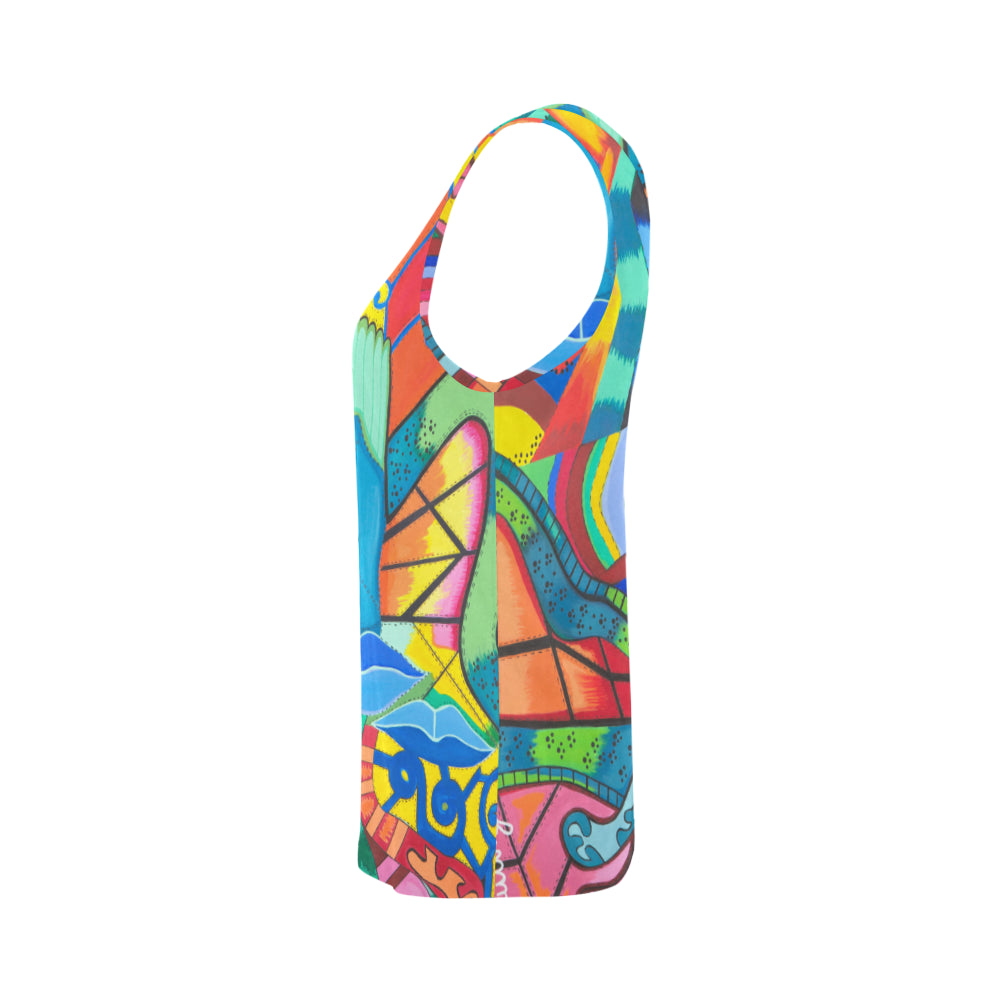 Path of Colors- Woman's Tank