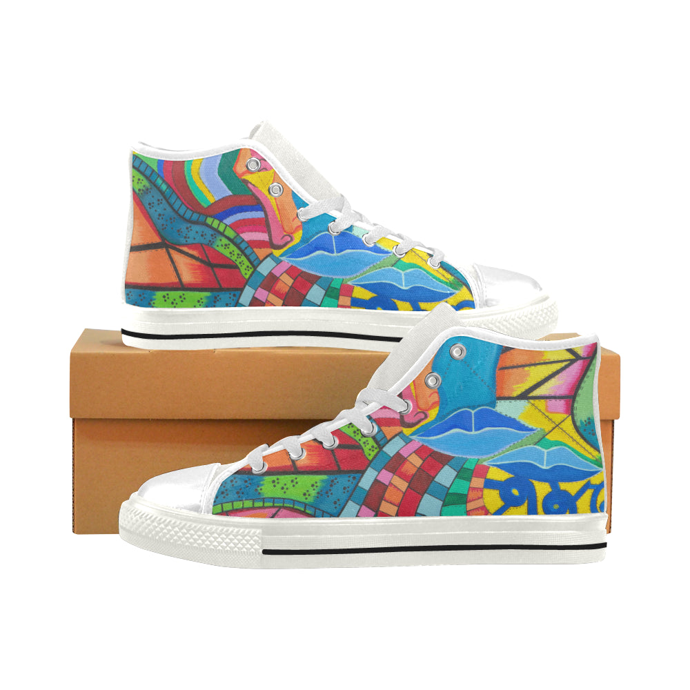 Path of Color- Men's High Tops