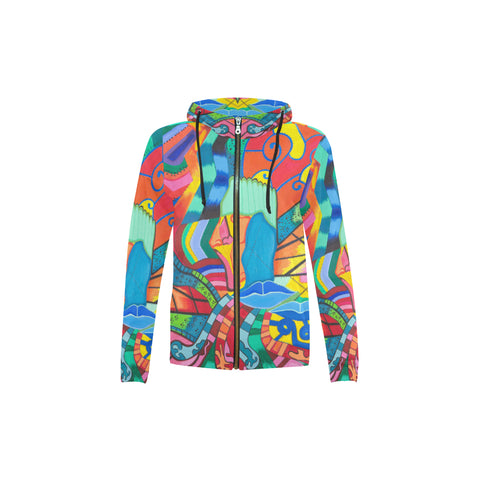 Path of Color- Zip Hoodies for Kids