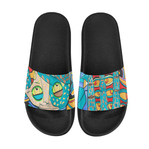 I See- Men's Slides ( Large)