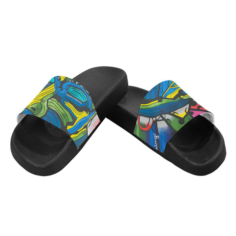 Wise Man- Men's Slides ( Large)