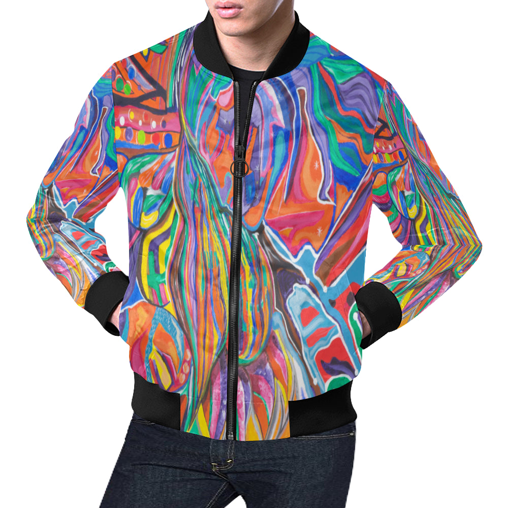 Enlightened Couple- Bomber Jacket