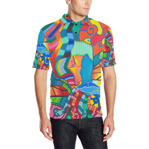 Path of Colors-Men's Polo
