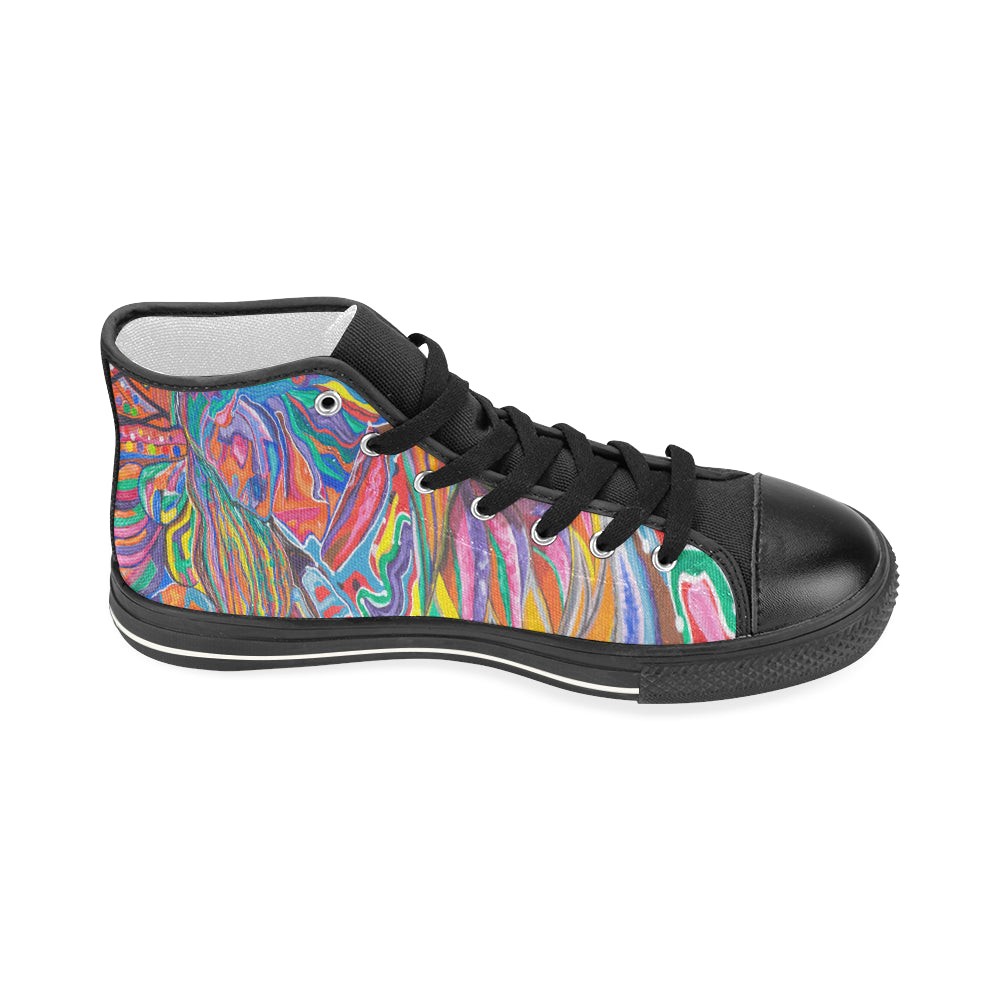 Enlightened Couple- Women's High Tops