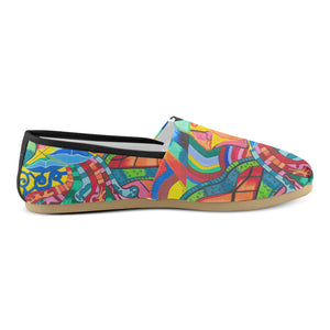 Path of Colors- Woman's Casual Shoes
