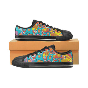 Happy Feeling- Women's Low Tops