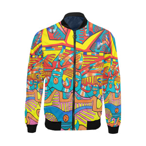 Happy Feeling- Bomber Jacket