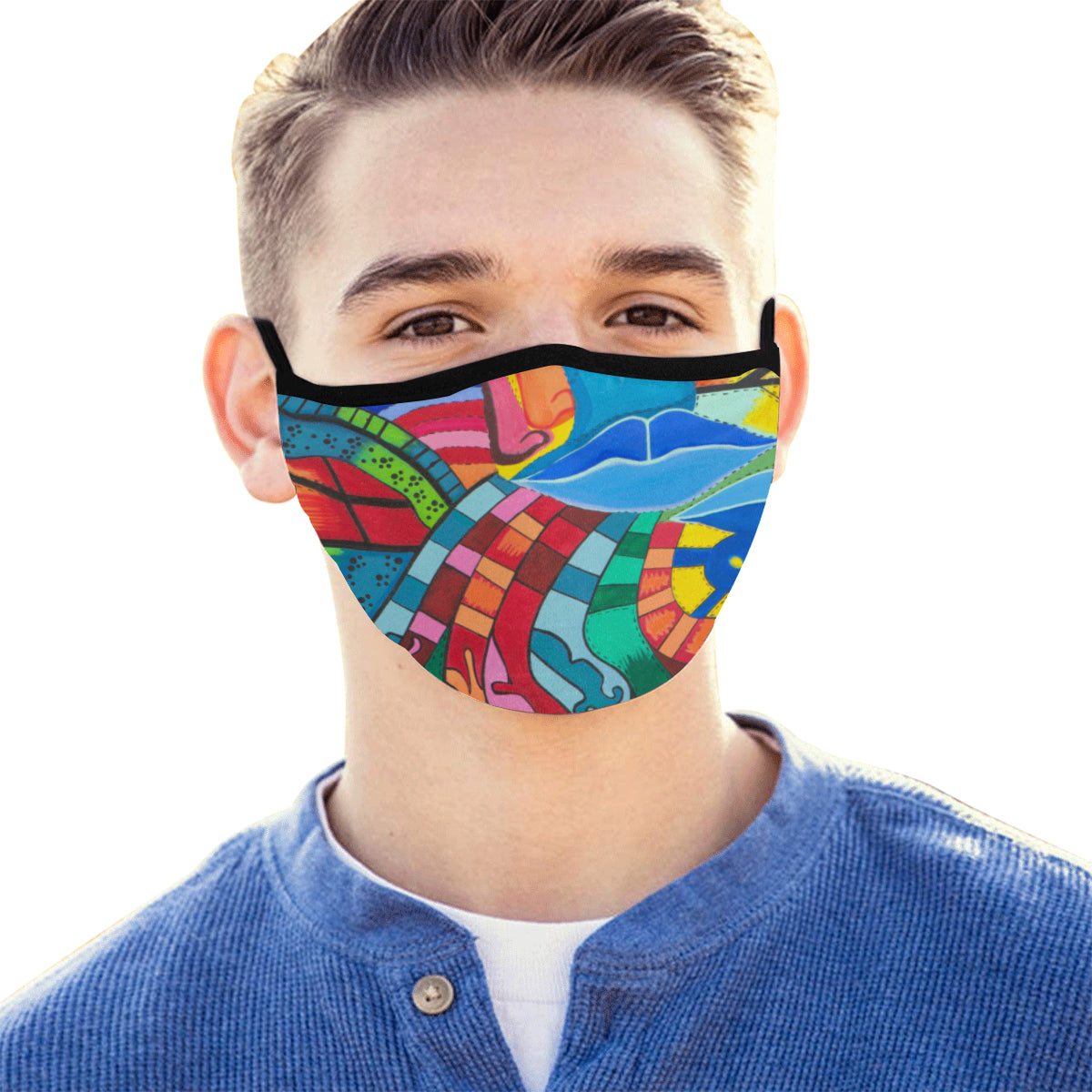 Path of Color- Mouth Mask