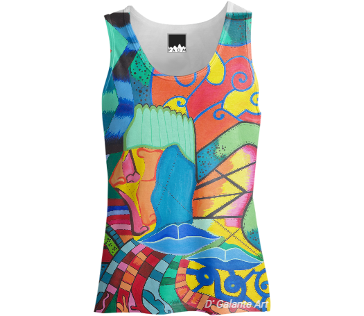 Path of Colors-Tank Top Women