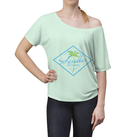 Women's Paradise Slouchy top
