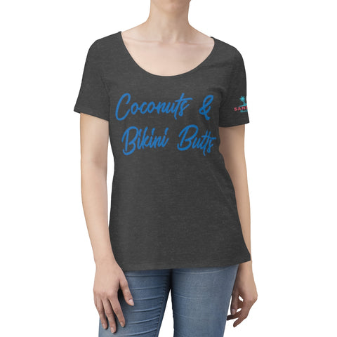 Women's Scoop Neck Coconuts