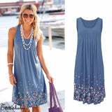 Knee Length Floral Sundress