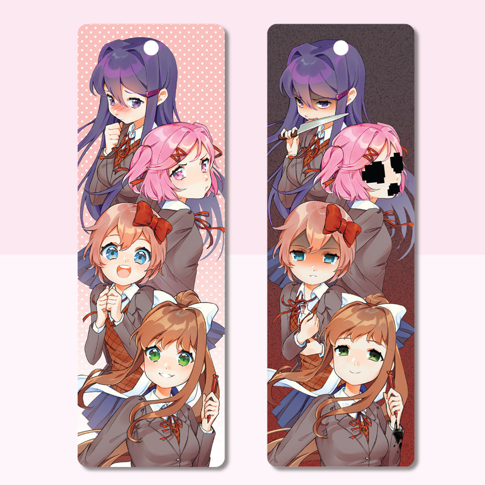 Lenticular Bookmark (w/ 4 Ribbons)