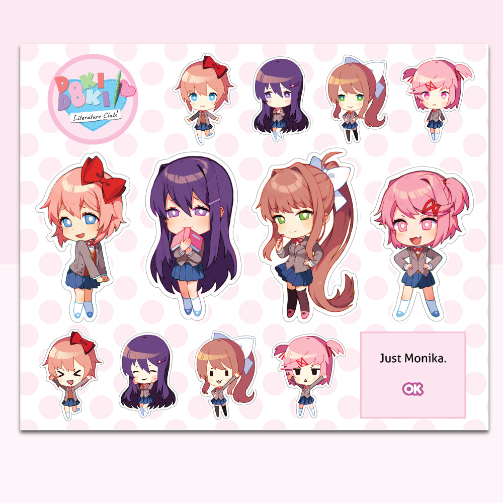 Sticker Sheet Complete Collection (14 Stickers)