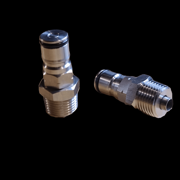 "1/2"" NPT Threaded Ball Lock Post (Gas In)"
