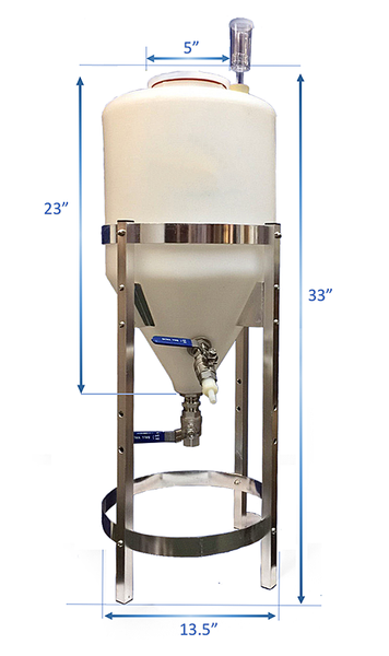 6.5 Gallon Conical Fermenter