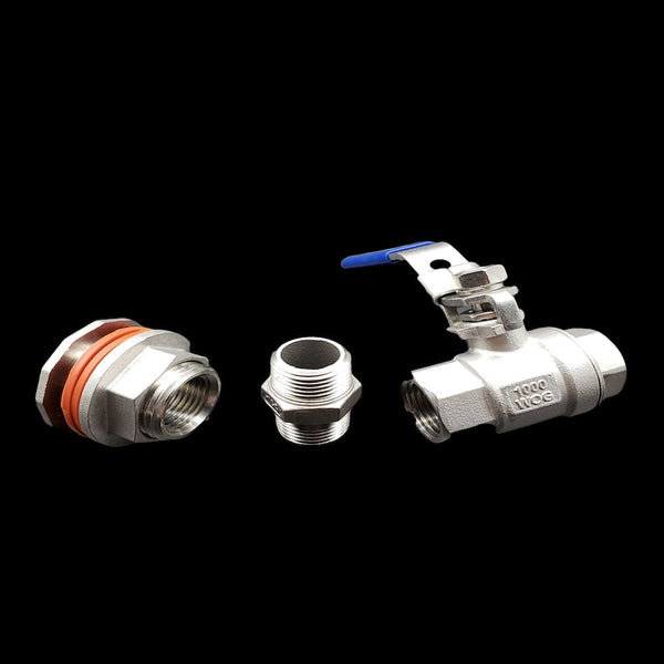 Brew Kettle Bulkhead Valve Kit
