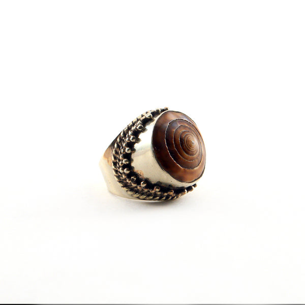 Shell Ring - MERMAID COLLECTION - HotRocksJewels