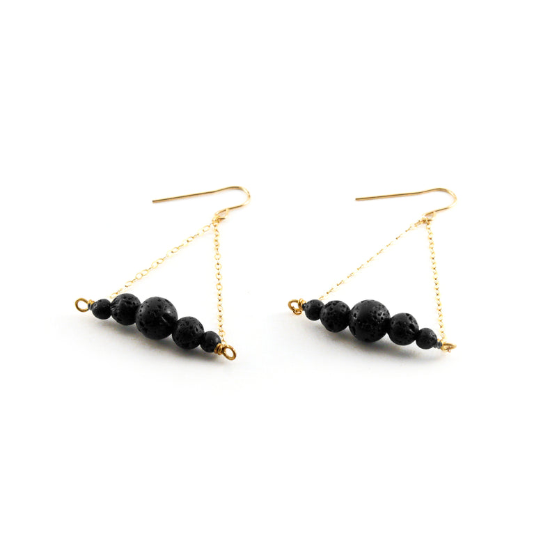 Lois Earring - SIMPLY LAVA COLLECTION - HotRocksJewels