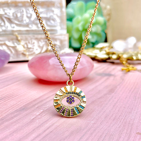 Alita Necklace-     MUSE COLLECTION - HotRocksJewels