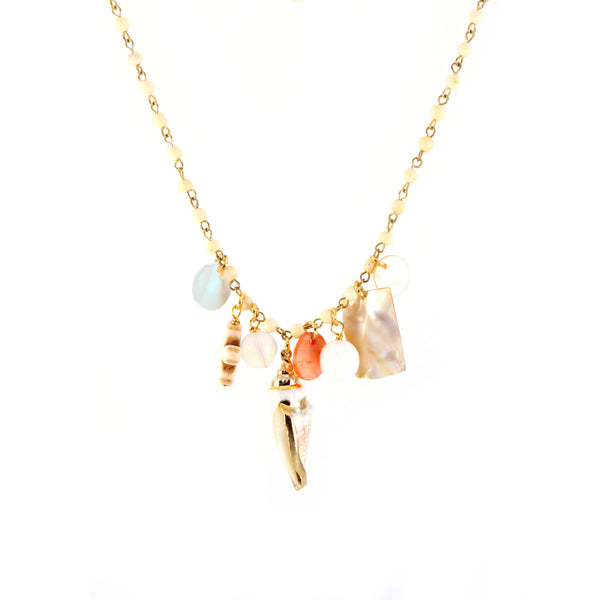 Oana Necklace - MERMAID COLLECTION - HotRocksJewels