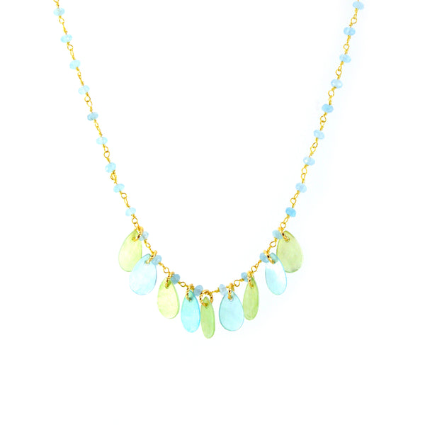 Tala Necklace - MERMAID COLLECTION - HotRocksJewels