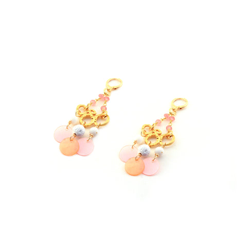 WILLA EARRING ROSE, FESTIVAL, SPRING, MERMAID COLLECTION
