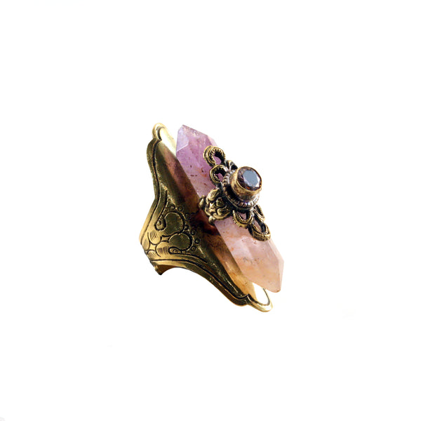 Amethyst Harlot Ring - MUSE COLLECTION - HotRocksJewels