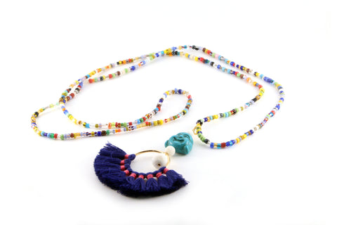 Vaughn Necklace - SILK ROAD COLLECTION - HotRocksJewels