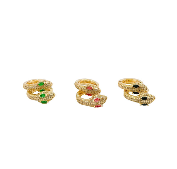 Snake Earrings - GOLD COLLECTION