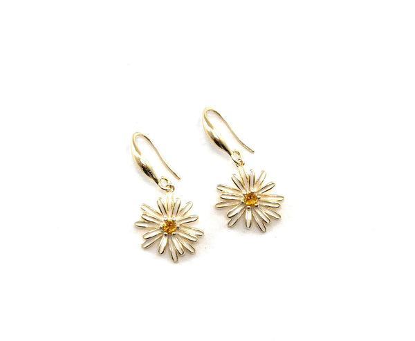Flower earrings - GOLD COLLECTION