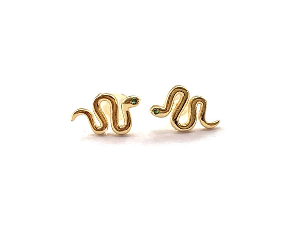 Slither Earrings - GOLD COLLECTION