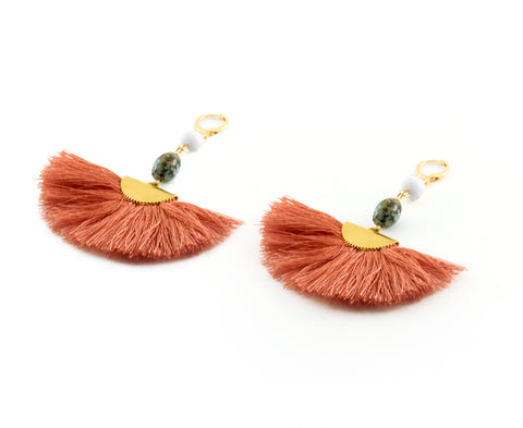 Ada Earrings - SILK ROAD COLLECTION - HotRocksJewels