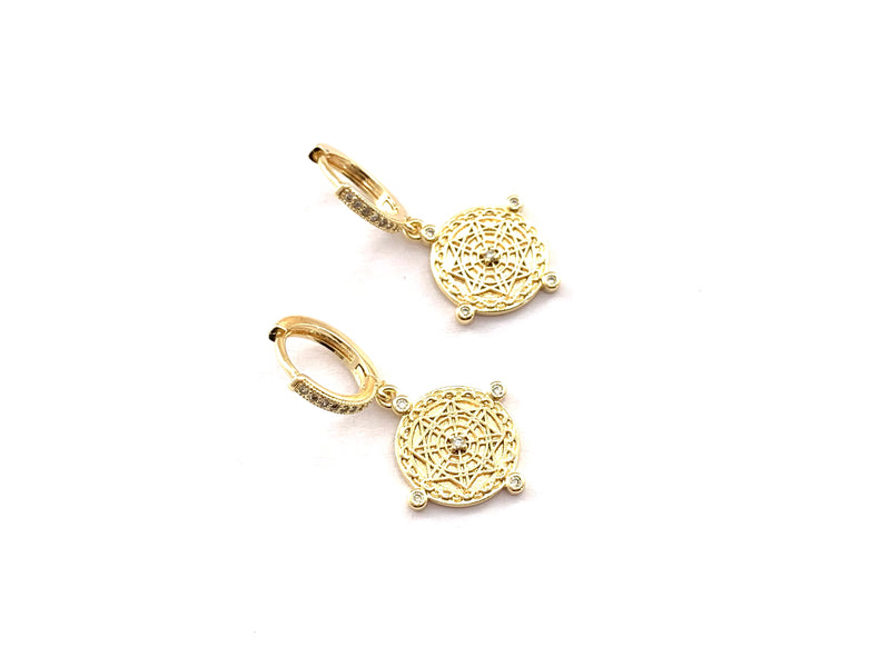 Orbit Gold Earrings - GOLD COLLECTION
