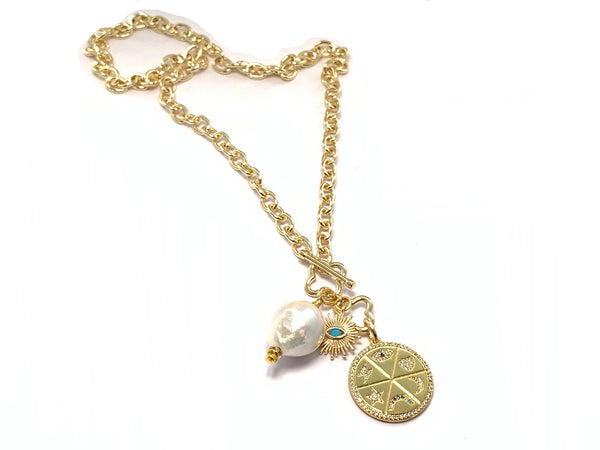 Lady Luck Necklace- GOLD COLLECTION