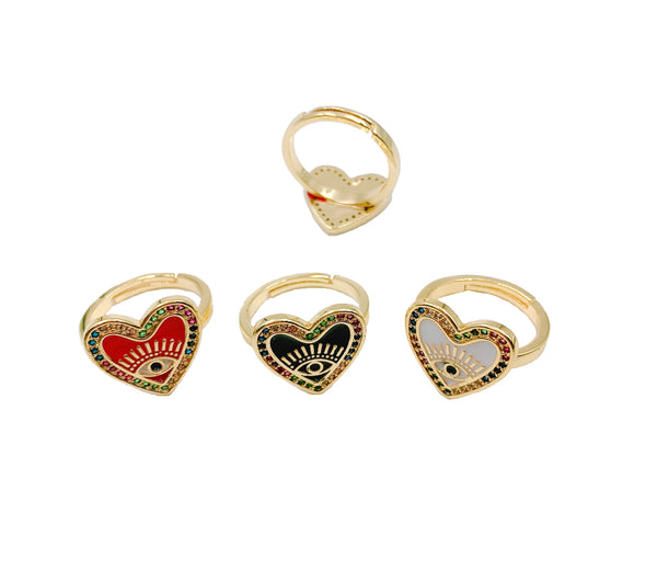 Heart Ring-     GOLD COLLECTION