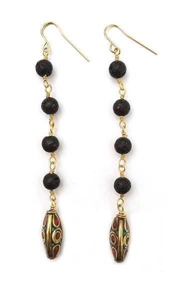 Dorin Earrings - GAIA COLLECTION - HotRocksJewels