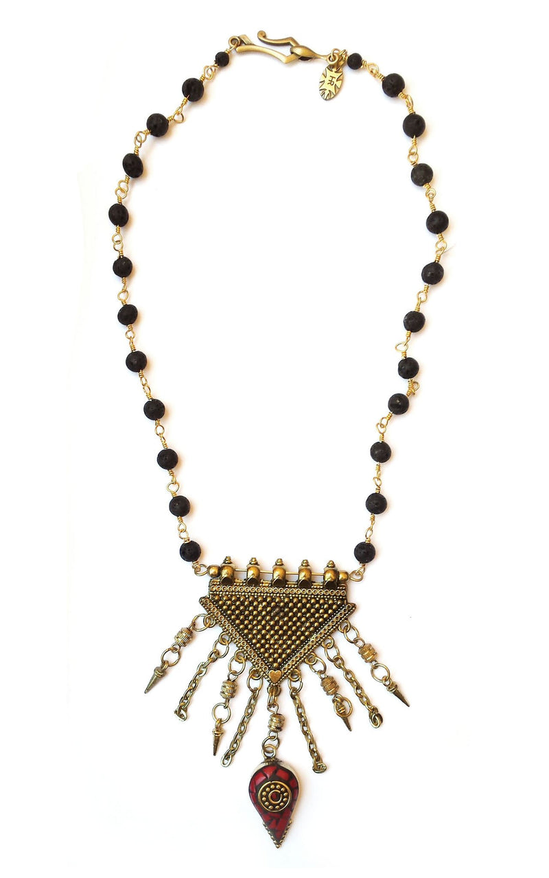 Duga Necklace - GAIA COLLECTION - HotRocksJewels