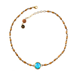 Hopal Necklace-      ELEMENTS COLLECTION - HotRocksJewels