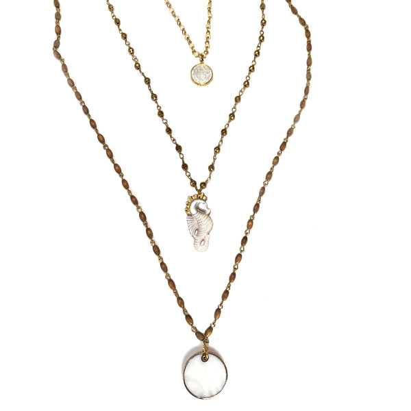 Jude Necklace-      THE ELEMENTS COLLECTION - HotRocksJewels