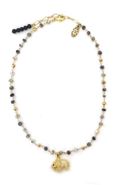 Elit Necklace - MINI COLLECTION - HotRocksJewels