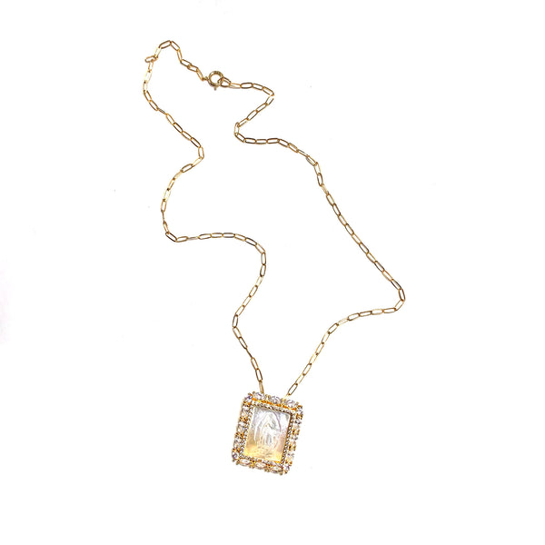 Grace Necklace-     GOLD COLLECTION - HotRocksJewels