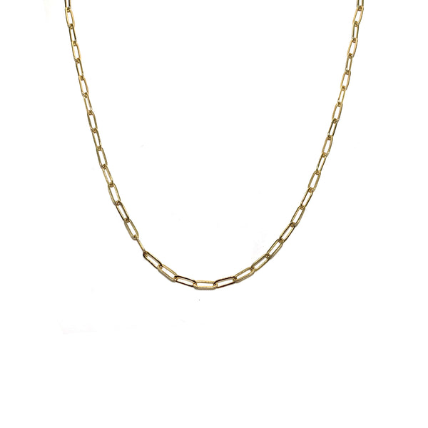 Layering Chain Necklace-    GOLD COLLECTION - HotRocksJewels